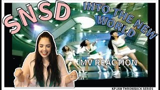GIRLS' GENERATION - INTO THE NEW WORLD | MV REACTION | THROWBACK SERIES | KPJAW - Stafaband