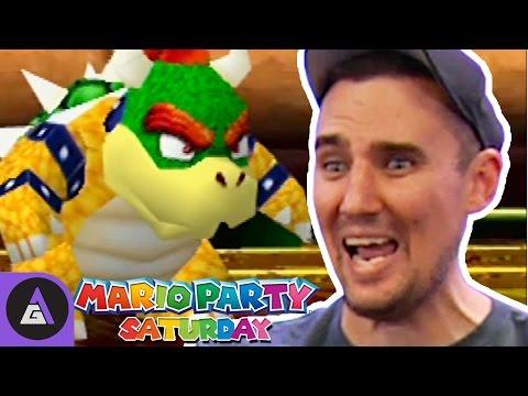 ABSOLUTELY SAVAGE - Mario Party 1 | Mario Party Saturday