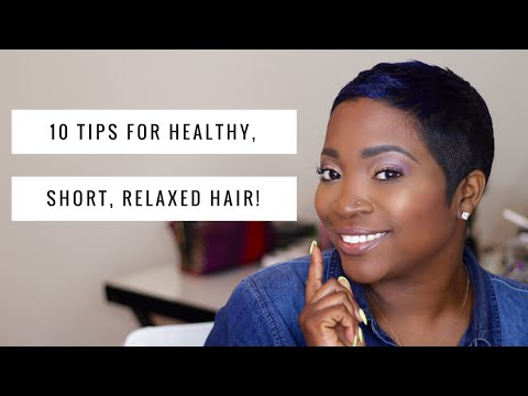 good styling products for short hair 10 tips for healthy relaxed hair thehairazor 8845 | hqdefault