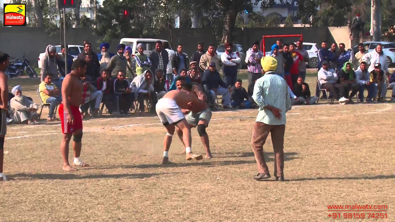 HAZARA (Jalandhar) KABADDI CUP - 2015 || FULL HD || Part 1st.