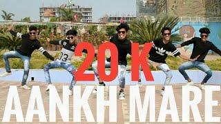 Aankh marey Dance Video | Mohit Mehra Choreography | Ranvir Singh, Sara Ali Khan