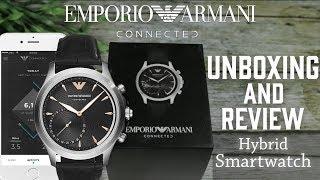 Jam Tangan Pria | Emporio Armani Hybrid Smartwatch ART3013