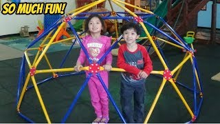 Indoor Playground for Kids and Children Fun Play Place / Kids Time Indoor Playground