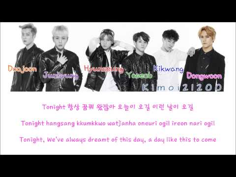 Beast - We Up [Hangul/Romanization/English] Color & Picture Coded HD
