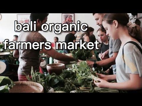 Bali organic farmers market