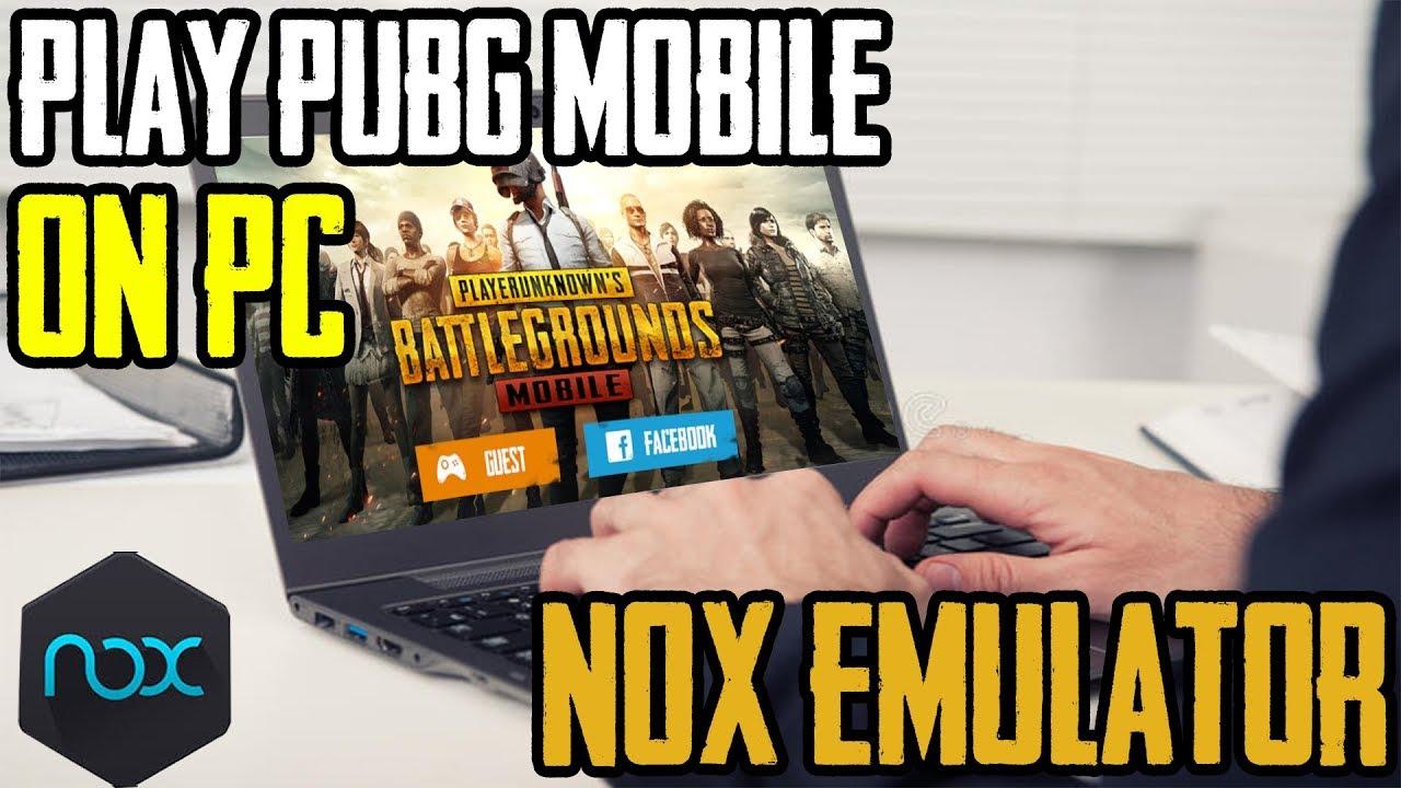 nox emulator for pc pubg