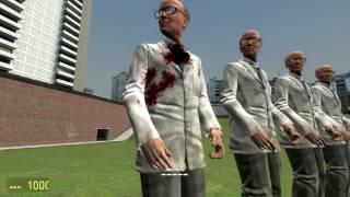 Обзоры Модов Garry's Mod 13.#34.Настраиваемое оружие из Team Fortress 2!Часть 3