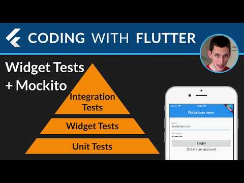 Flutter: Deep Dive with Widget Tests and Mockito