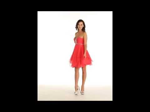 FDS1042 Cute & Flirty Homecoming Dress
