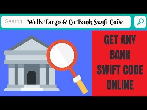 Wells Fargo & Co Swift Code   Wells Fargo & Co Swift Code   How To Find Any Bank Swift Code