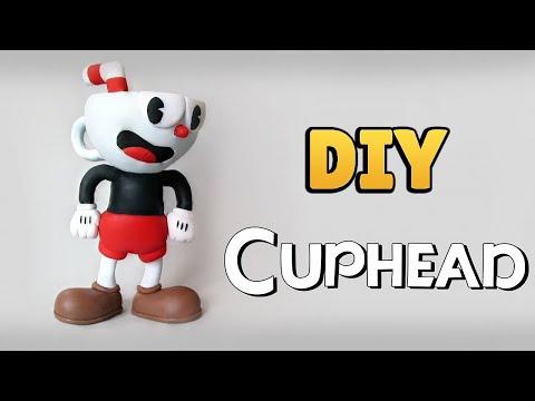 DIY: Como Fazer um CUPHEAD - Cuphead  Tutorial #diygames    Ideias Personalizadas - DIY