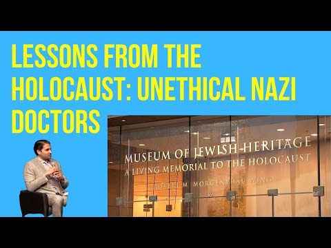 What Have We Learned Since the Nazi Doctors' Trial and the Nuremberg Code? by Dr. Omar Sultan Haque on YouTube