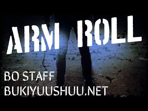 Bo Staff Training: Bo Staff Arm Roll or Arm Wrap Tutorial | Tricks  Instruction