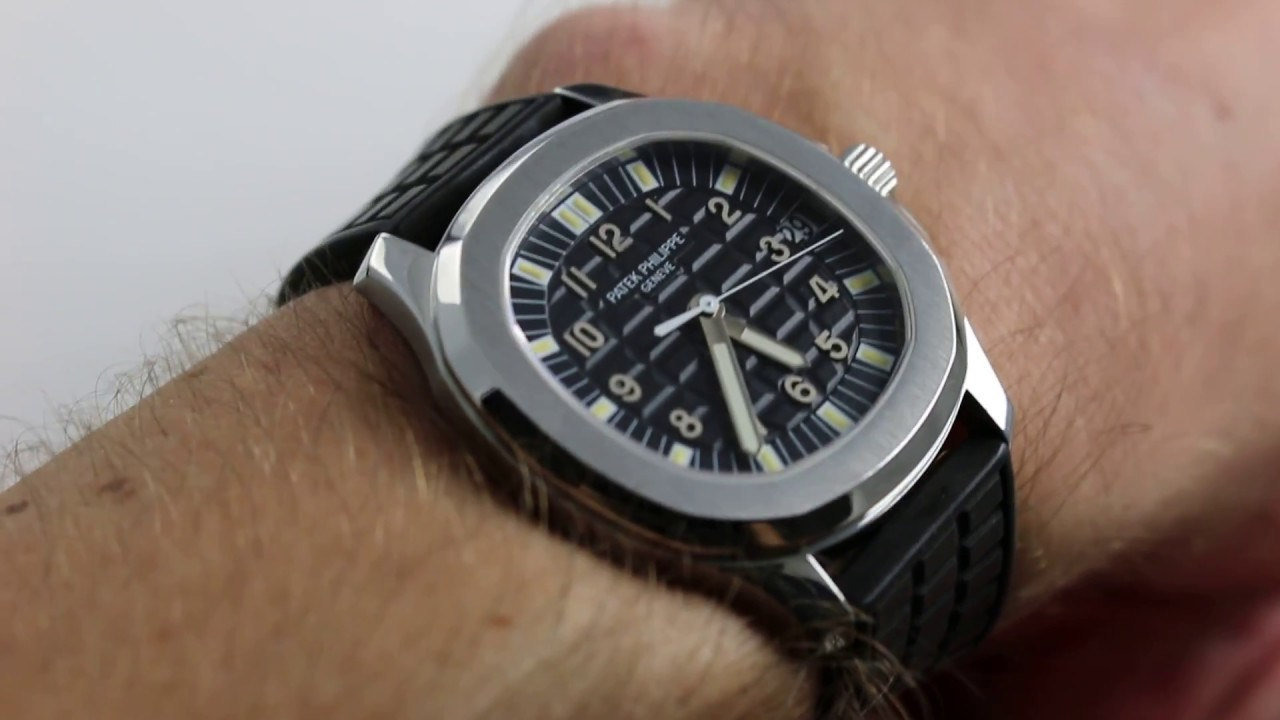 9a1ed517a61 Patek Philippe Aquanaut Ref. 5065A-001 Watch Review - YouTube