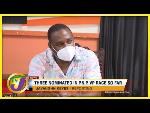 3 Nominated in Jamaica's PNP VP Race so far   TVJ News - July 15 2021