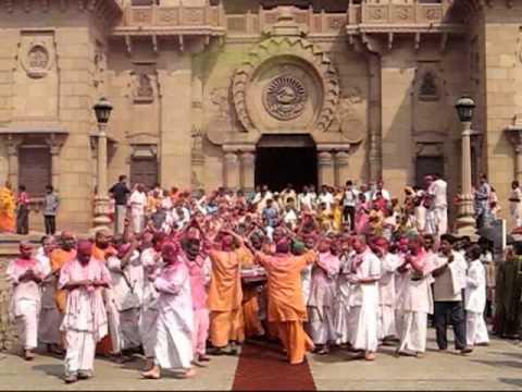 Dol Poornima,2009&10, Ramakrishna Math, Harir Loot by President Mj Swami.