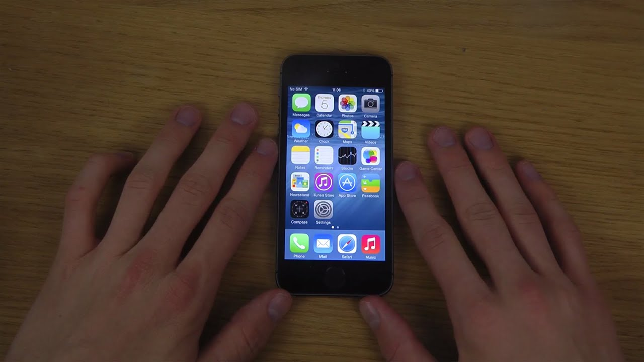 Iphone 5s ios 8 zoom review youtube for Fenetre zoom iphone x