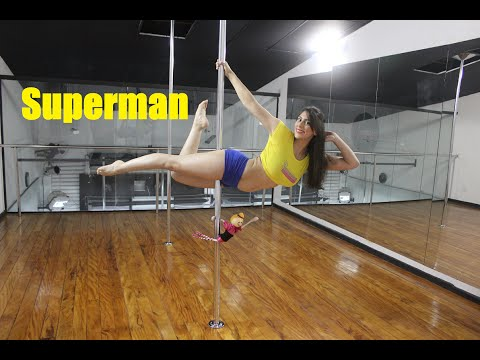 Superman - Tutorial de Pole Dance por Alessandra Rancan