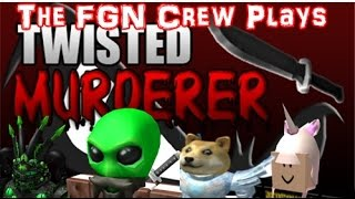 The FGN Crew Plays: Roblox - Twisted Murderer | Valadin wanted it (PC)