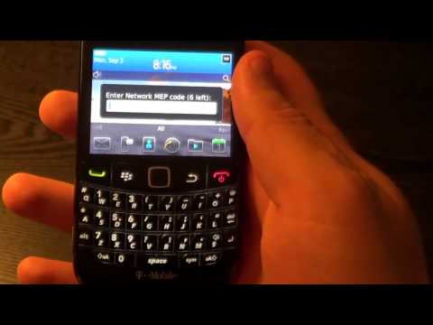 2 Ways How to unlock Blackberry Bold 9780 9790 No SIM Required AT&T Verizon T-mobile Rogers Vodafone