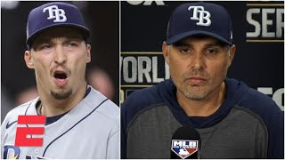 Kevin Cash on decision to remove Blake Snell from Game 6 | 2020 World Series