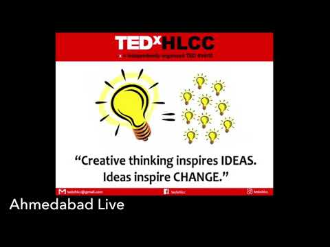Ahmedabad Live Partnering With HLCC TEDx.
