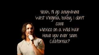 Jake Owen - Anywhere With You +Lyrics thumbnail