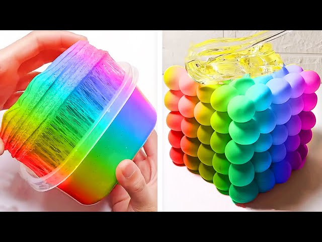 Oddly Satisfying Slime ASMR No Music Videos - Relaxing Slime 2020 - 146