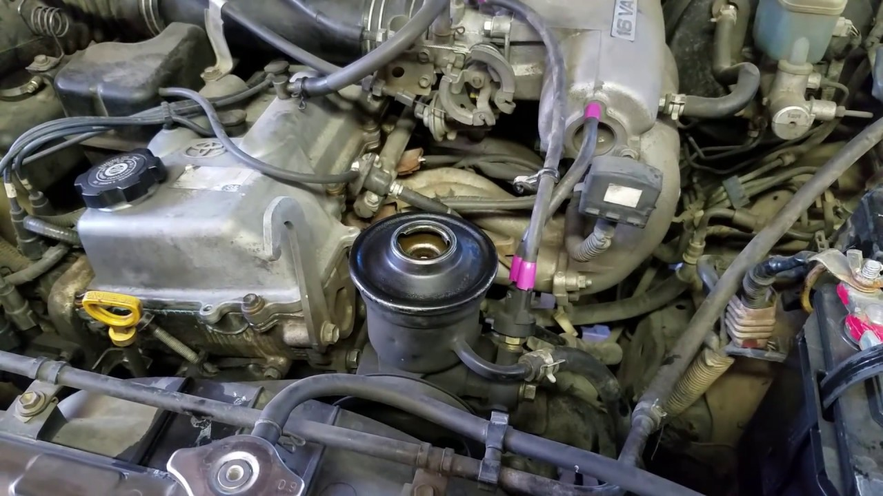 toyota fuel filter replacement 1996 2002 4 runner tacoma power stearing whine fix youtube  1996 2002 4 runner tacoma power stearing whine fix youtube
