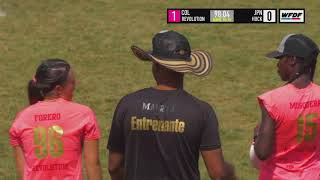 WUCC 2018 - Revolution Ultimate (COL) vs HUCK (JPN)