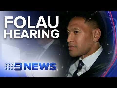 Mystery remains over future of Wallabies star Israel Folau | Nine News Australia