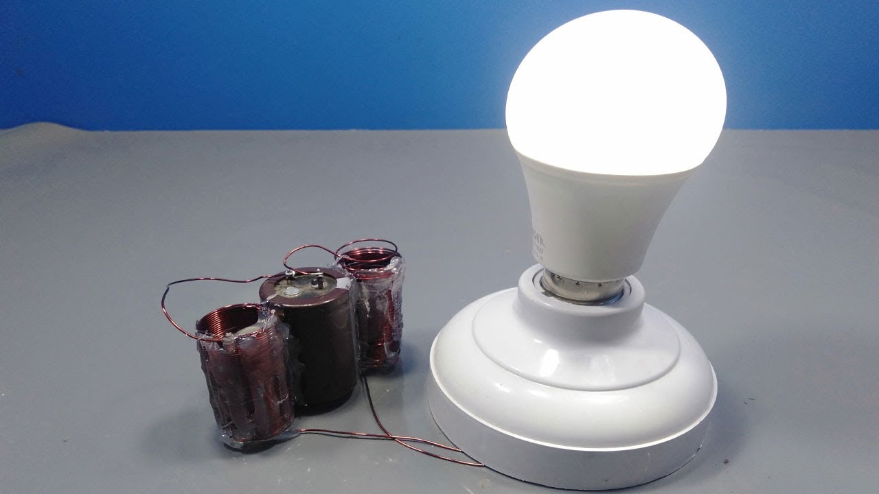 Free Energy Experiment Using Super Capacitor and Copper Coil _ Science  Projects