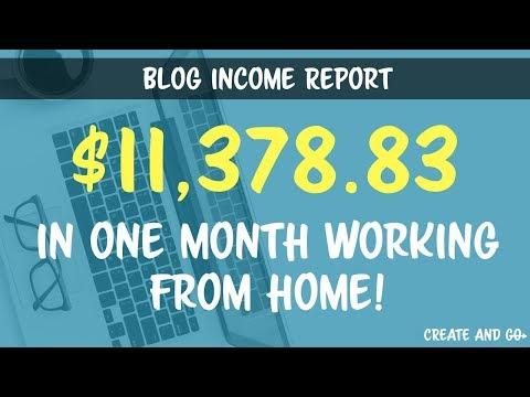 Blog Income Report December 2016, $11,378.83 Blogging