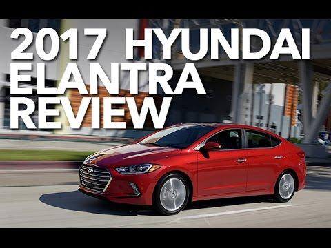 2017 Hyundai Elantra Test Drive, Better than Honda Civic?