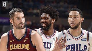 Gambar cover Philadelphia 76ers vs Cleveland Cavaliers - Full  Highlights | Nov 17, 2019 | 2019-20 NBA Season