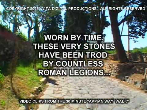 APPIAN WAY VIRTUAL WALK DVD