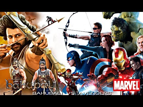 BAHUBALI VS AVENGERS | COPY SCENES | PART 01 - YouTube