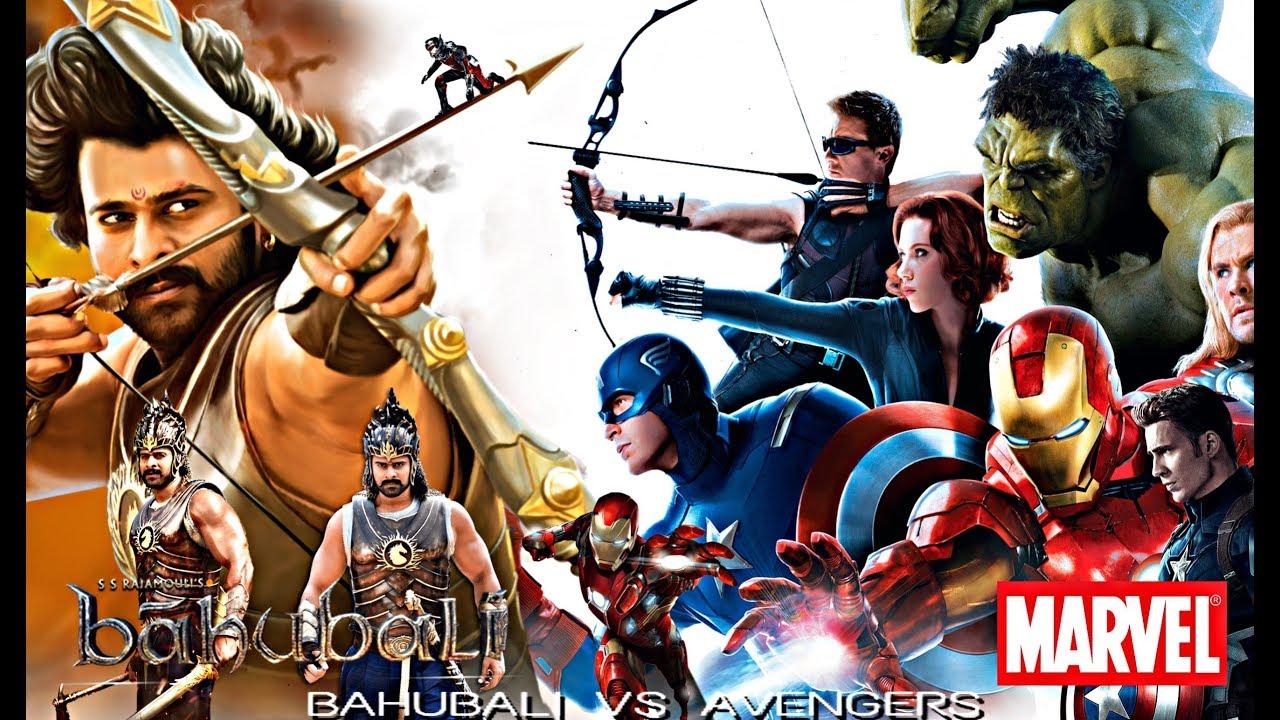 BAHUBALI VS AVENGERS | COPY SCENES | PART 01