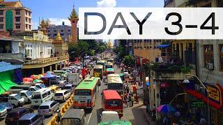 TOUCHDOWN MYANMAR   Day 3-4   GoPro Hero4 Black