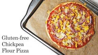 Chickpea Flour Pizza (gluten Free & Healthy)