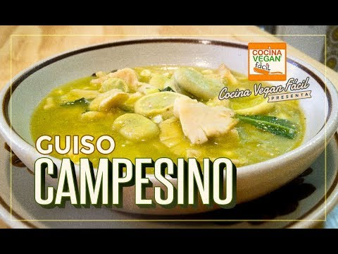 Guiso campesino - Cocina Vegan Fácil