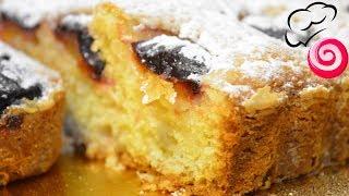 Все дело в бесподобном пудинговом тесте Быстрый пирог со сливами!