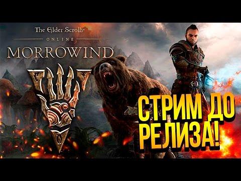 The Elder Scrolls Online: MORROWIND - СТРИМ ДО РЕЛИЗА! НОВЫЙ КОНТЕНТ В TESO ОТ ШИМОРО!