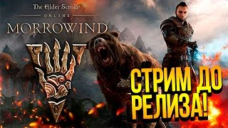 The Elder Scrolls Online: MORROWIND - СТРИМ ДО РЕЛИЗА! НОВЫЙ КОНТЕНТ В TESO ОТ ШИМОРО!