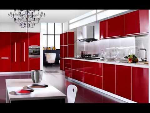 Design Dapur Warna Merah Desain Interior Dapur Minimalis Sederhana