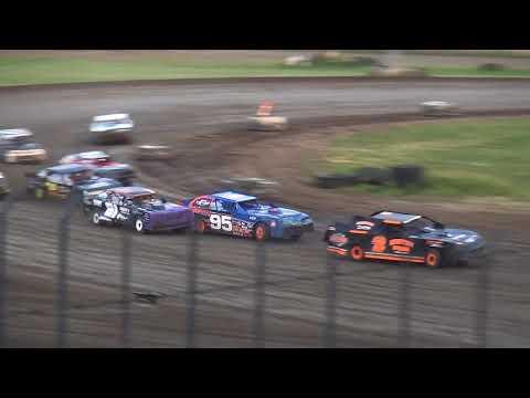 Street Stock feature Davenport Speedway 6/8/18