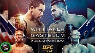 UFC 234 - Whittaker vs Gastelum, Silva vs Adesanya