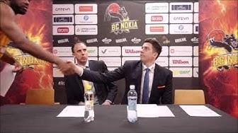 BC Nokia vs. Karhubasket | Lehdistötilaisuus | 9.3.2020