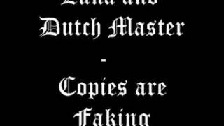 Luna and Dutch Master - Copies Are Faking (Original Mix)