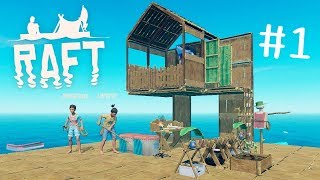 阿津 大海生存 Raft #1 海洋清潔工